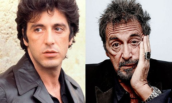 Image result for pacino young and old