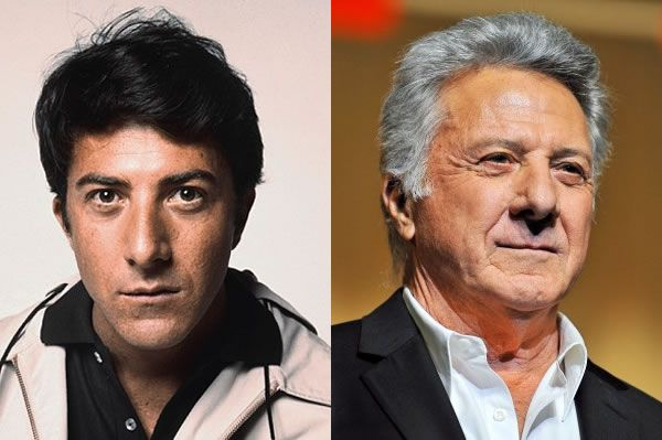 Image result for DUSTIN HOFFMAN YOUNG AND OLD