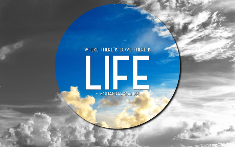 wallpaper_where_there_is_love_there_is_life74