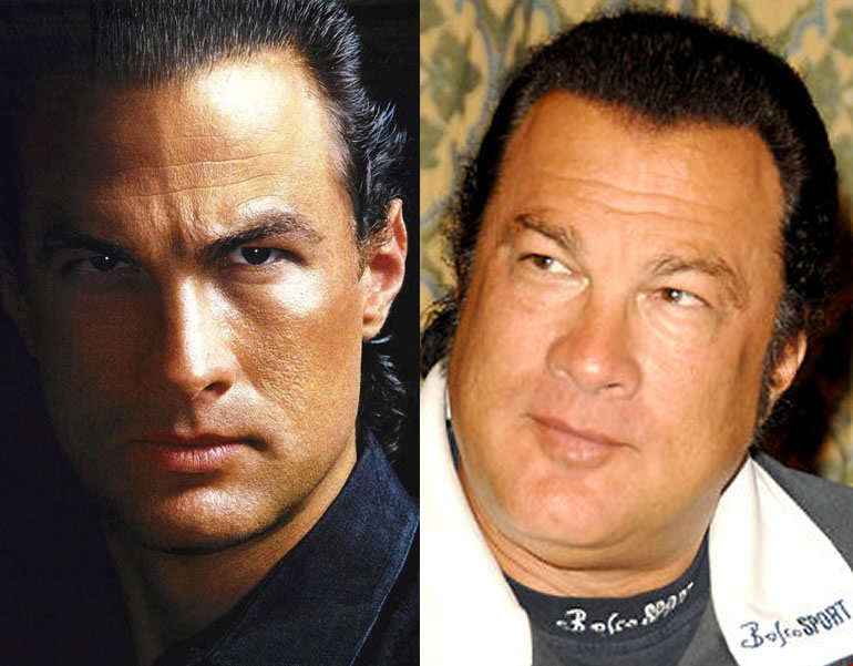Steven Seagal Fat 20 Celebrities Who Got Overweight Page